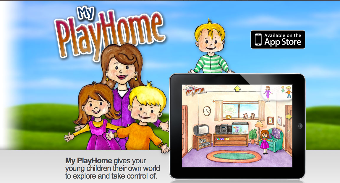 app review my playhome app review ipad a great app for kids