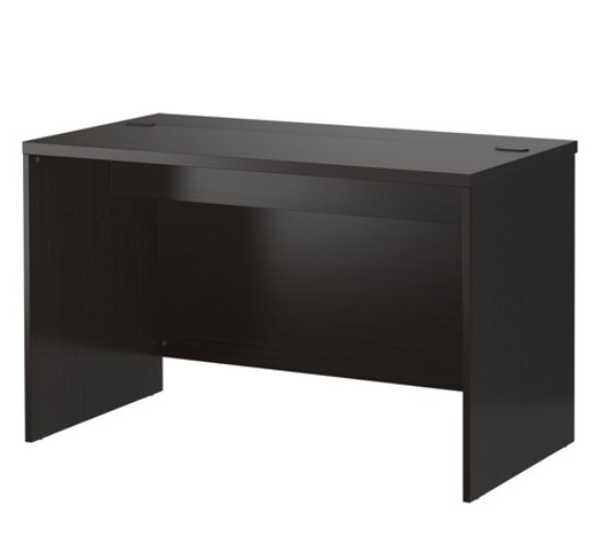 ikea hack of a basic computer desk survivemag. Black Bedroom Furniture Sets. Home Design Ideas