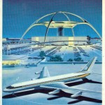 Vintage Jet Age Poster LAX