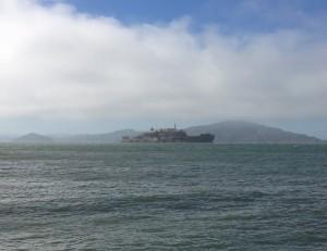 Alcatraz from Fishermans wharf